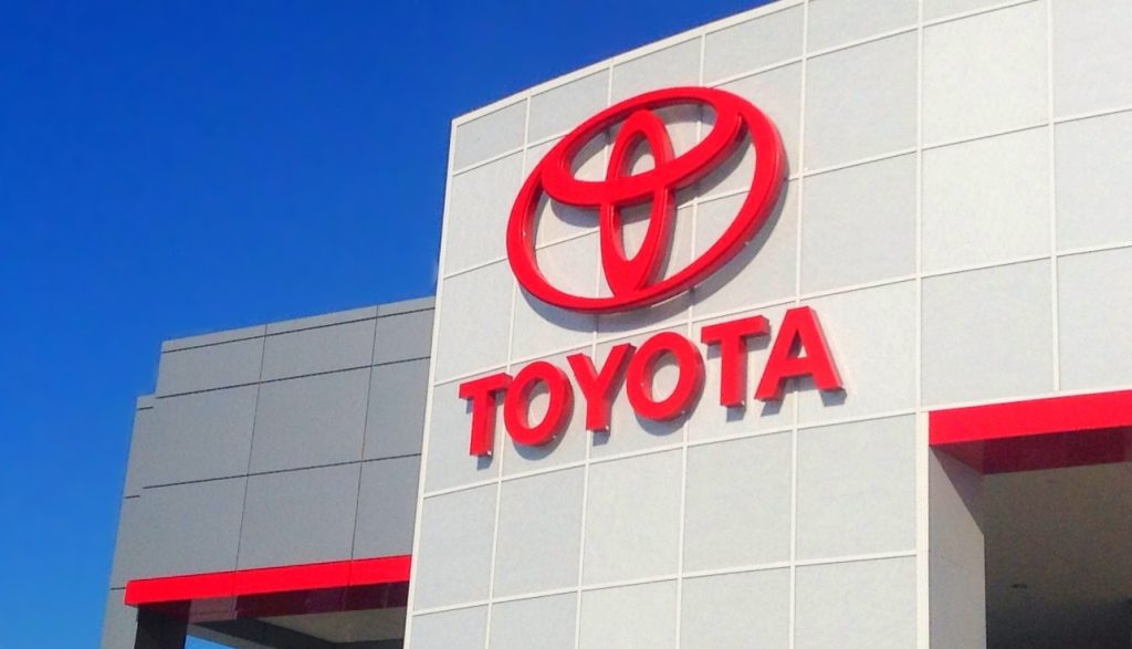 Call-back of more than a Million Toyota Cars