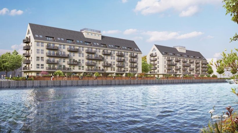 New apartments at the Havelufer